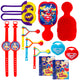 DC Super Hero Girls Mega Mix Value Pack 48pk - Party Savers