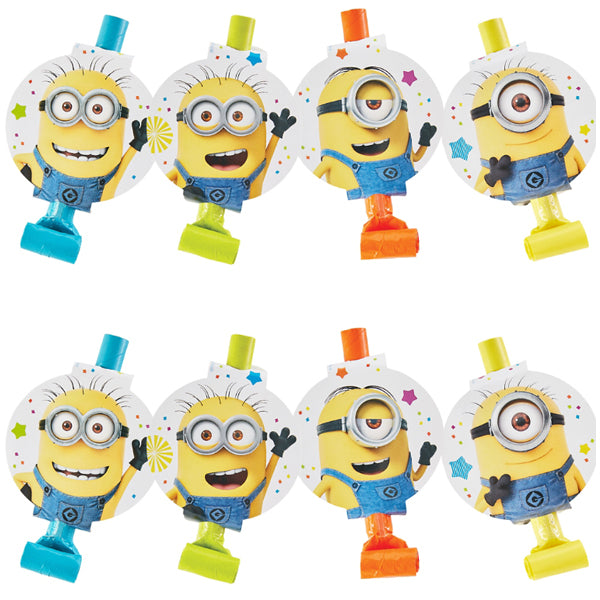 Despicable Me Blowouts 8pk