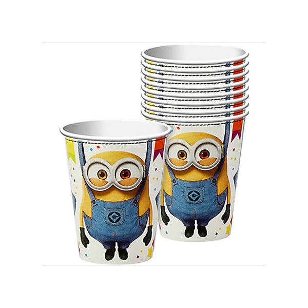 Despicable Me Cups 266ml 8pk