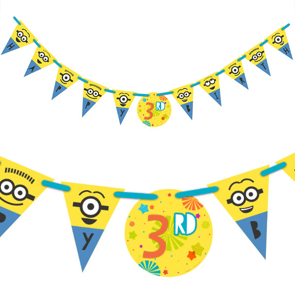 Despicable Me Jumbo Add-An-Age Banner