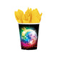 Disco Fever Cups 266ml 8pk - Party Savers