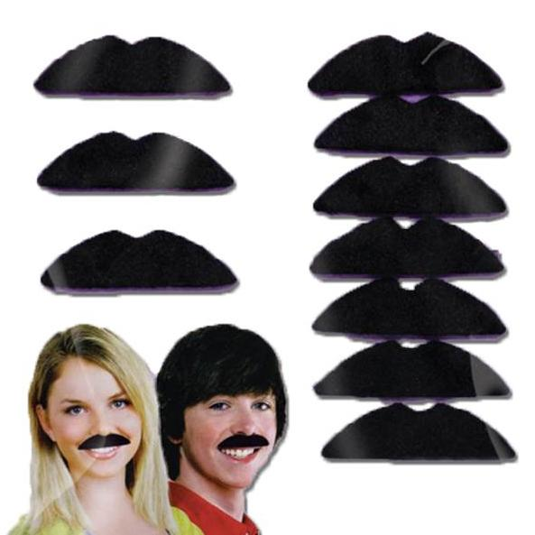 Disco Fever Moustaches 10pk