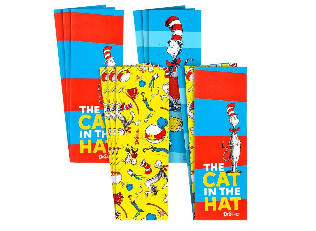 Dr. Seuss Bookmark 12pk