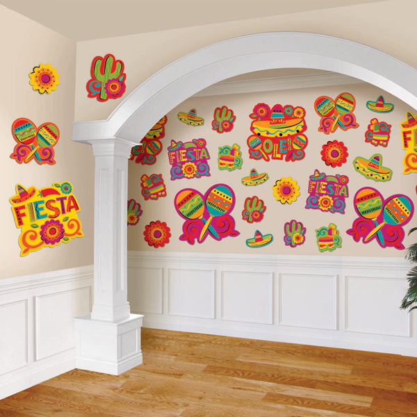 Fiesta Cutout Value Pack 30pk
