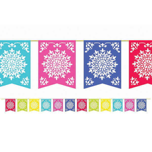 Fiesta Del Sol Flag Banner - Party Savers