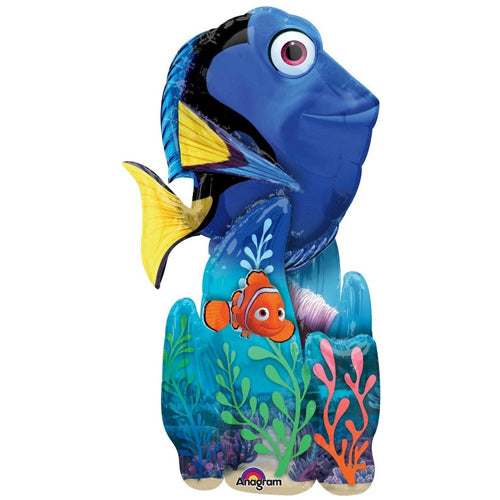 Finding Dory AirWalker Balloon 78cm x 139cm - Party Savers