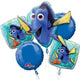 Finding Dory Balloon Bouquet 5pk