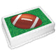 Football Rectangle Edible Icing Image 25cm x 19cm