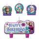 Frozen Birthday Candle Set 4pk