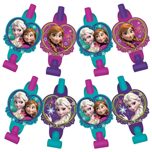 Frozen Blowouts with Medallions 8pk