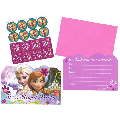 Frozen Postcard Invitations 8pk