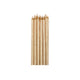 Gold Candles 12.5cm 12pk - Party Savers