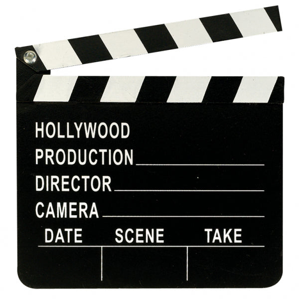 Hollywood Clapboard Die-Cut - Party Savers