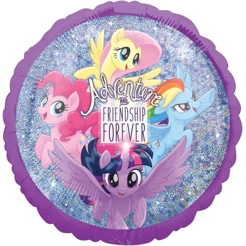 My Little Pony Holographic Friendship Adventures Foil Balloon 45cm - Party Savers