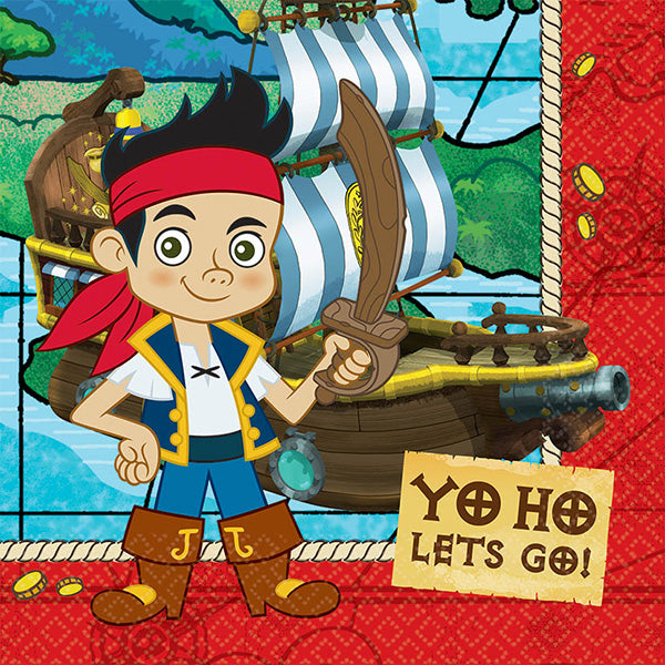 Jake and the Neverland Pirates Lunch Napkin