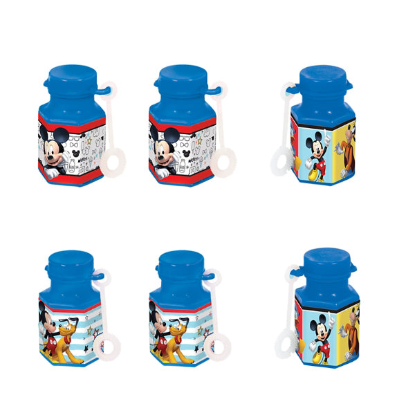 Mickey on the Go Mini Bubbles 12pk