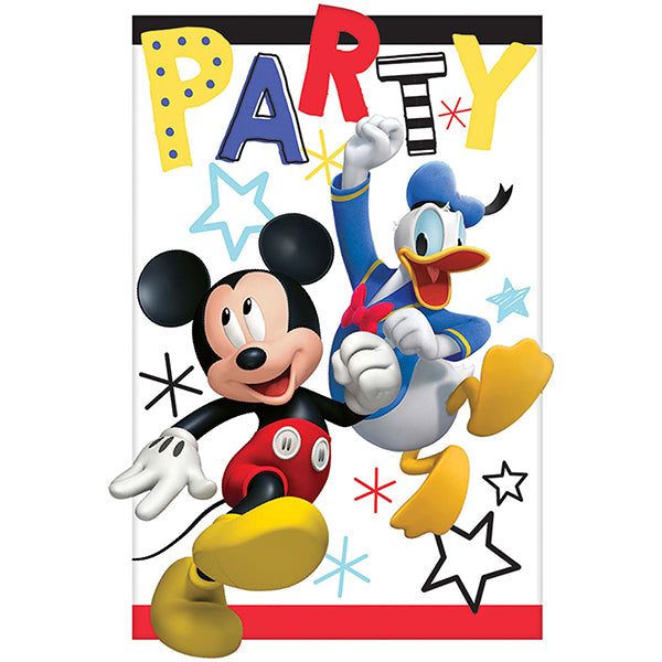 Mickey on the Go Postcard Invitations 8pk - Party Savers