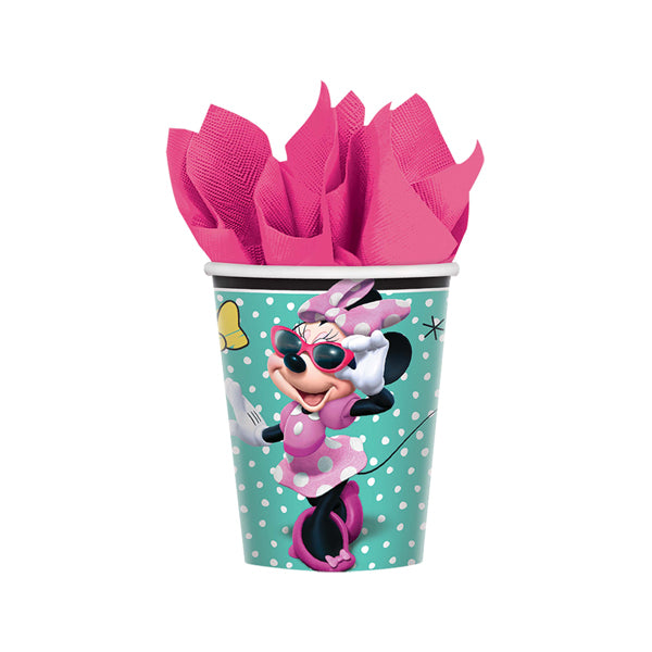 Minnie Mouse Happy Helpers  Cups 266ml 8pk