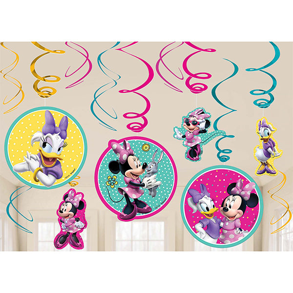 Minnie Mouse Happy Helpers Swirl Value Pack Foil 12pk
