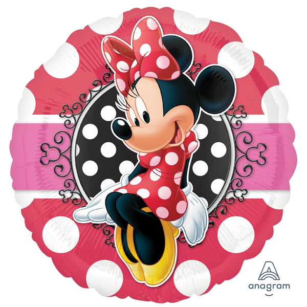 Minnie Portrait Foil Balloon