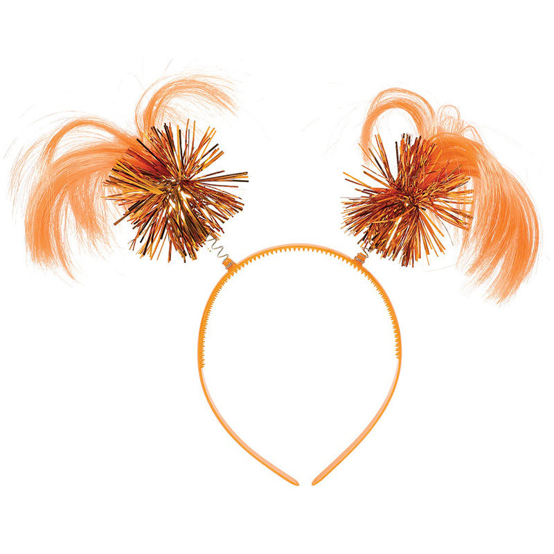 Orange Ponytail Headband