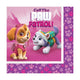 Paw Patrol Girl Lunch Napkins 33cm 16pk