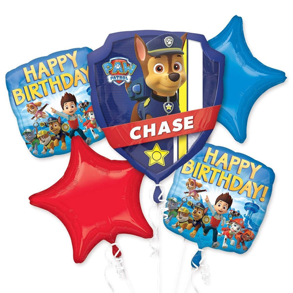 Paw Patrol Happy Birthday Bouquet 5pk
