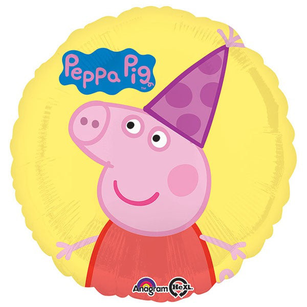 Peppa Pig Foil Balloon 45cm - Party Savers