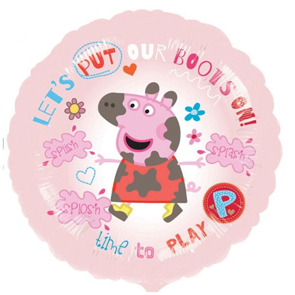 Peppa Pig Time To Play Foil Balloon 45cm