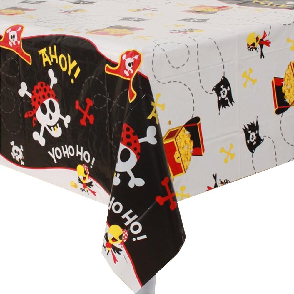 Pirate Fun Plastic Tablecover 137cm x 213cm