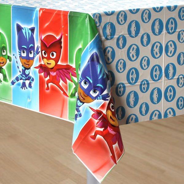 PJ Masks Plastic Tablecover 137cm x 243cm - Party Savers