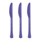 Purple Plastic Knife 20pk - Party Savers