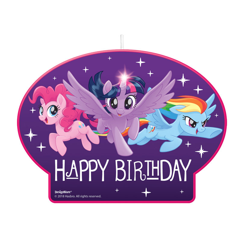 My Little Pony Friendship Adventures Birthday Candle