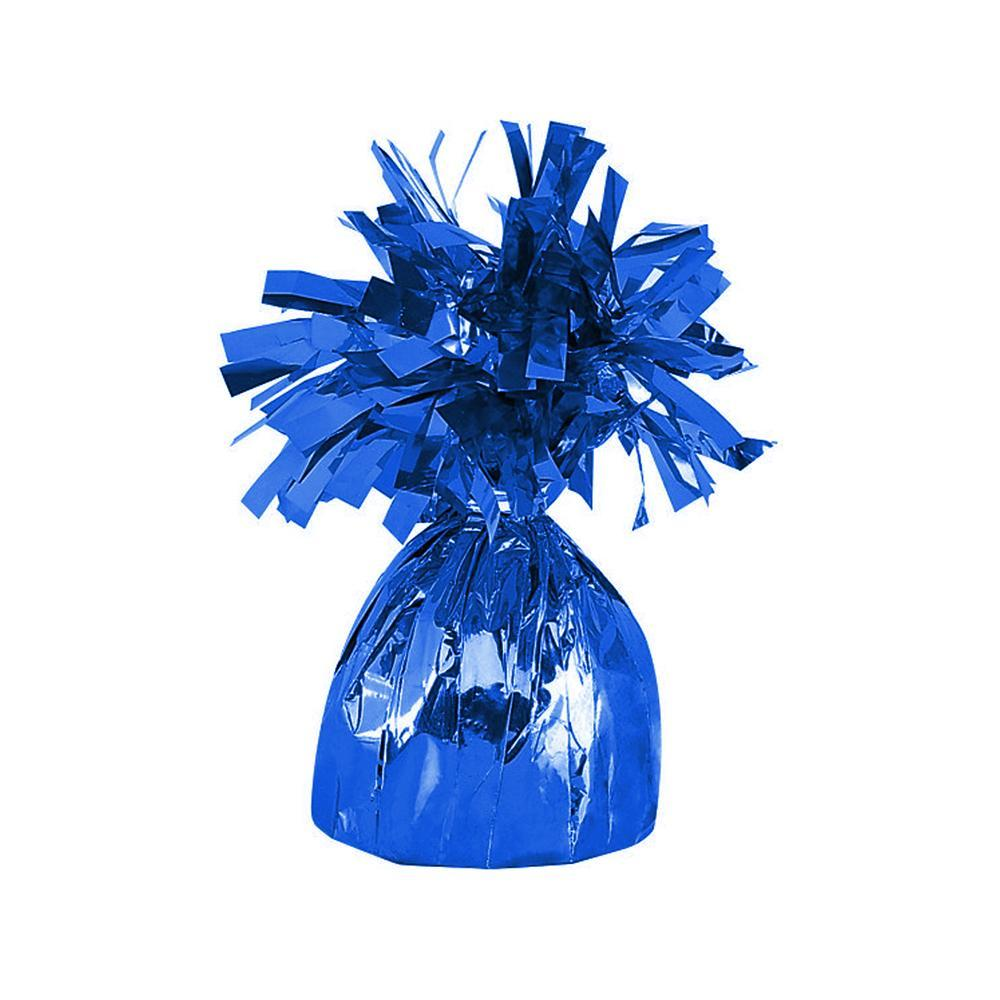Royal Blue Foil Balloon Weight - Party Savers