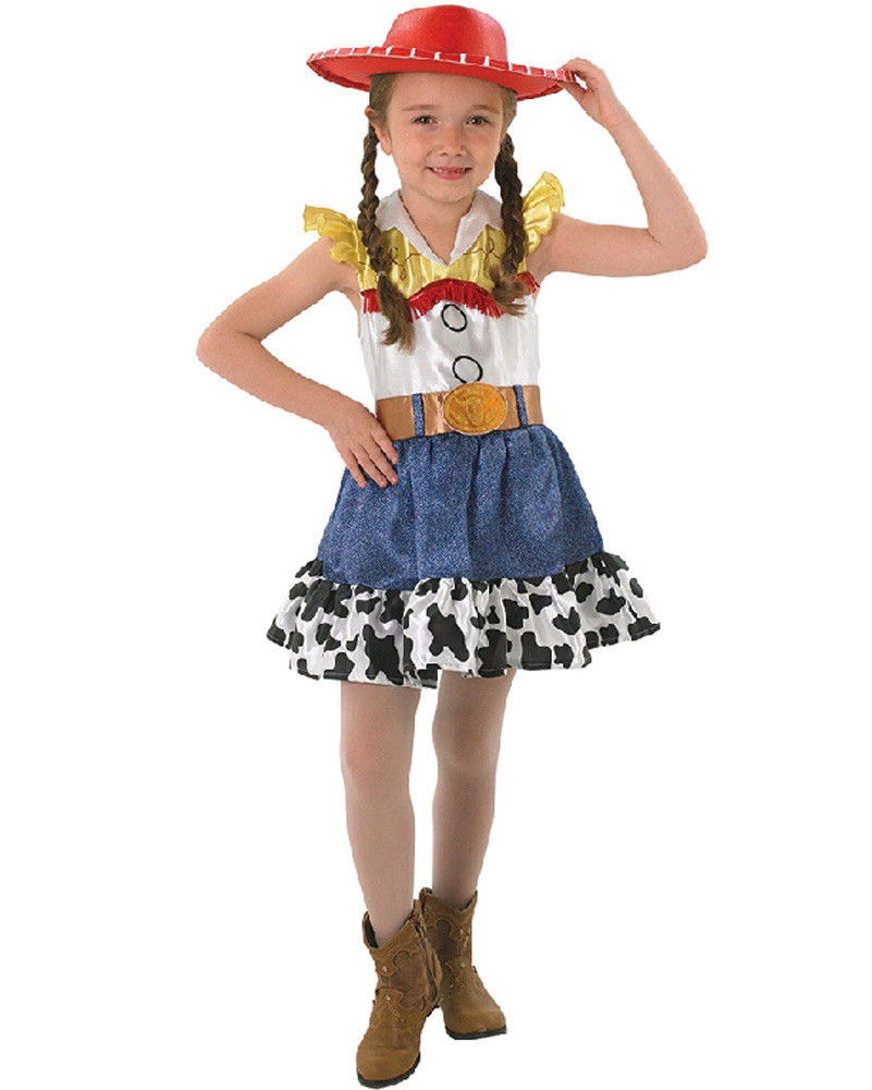 Girls Costume - Jessie Deluxe