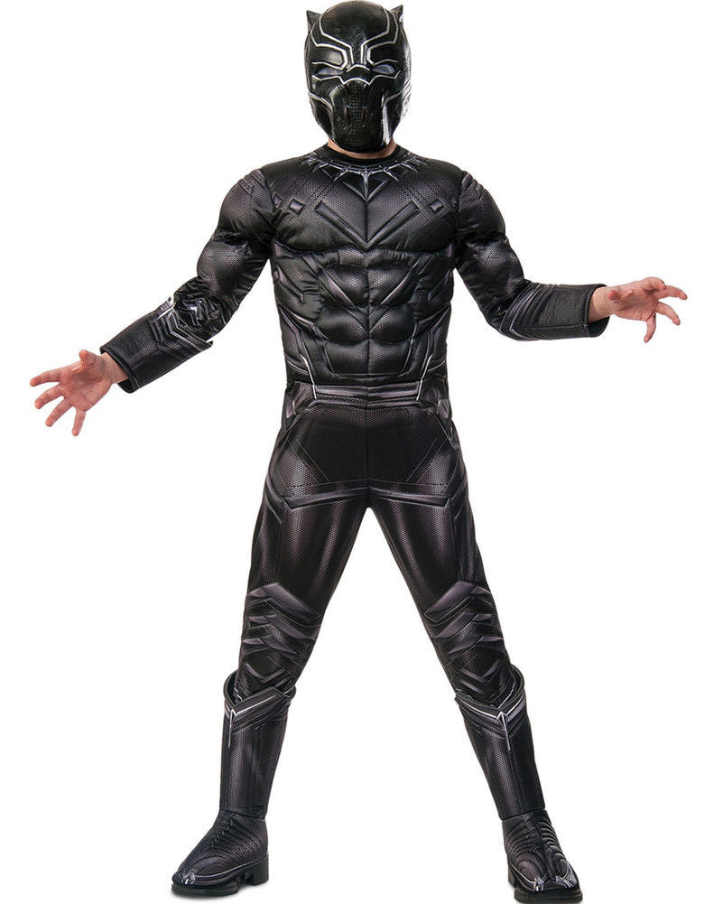 Boys Costume - Black Panther Premium