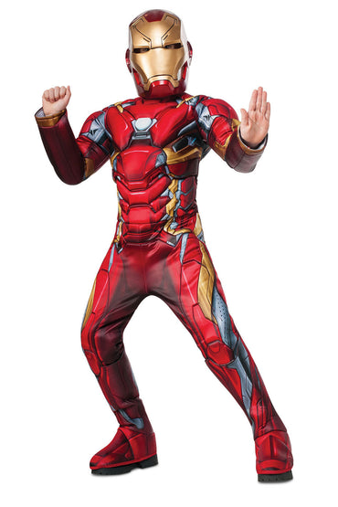 Boys Costume - Iron Man Premium