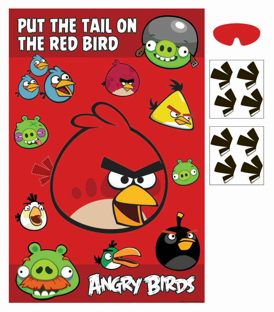 Angry Birds Party Games - Party Savers