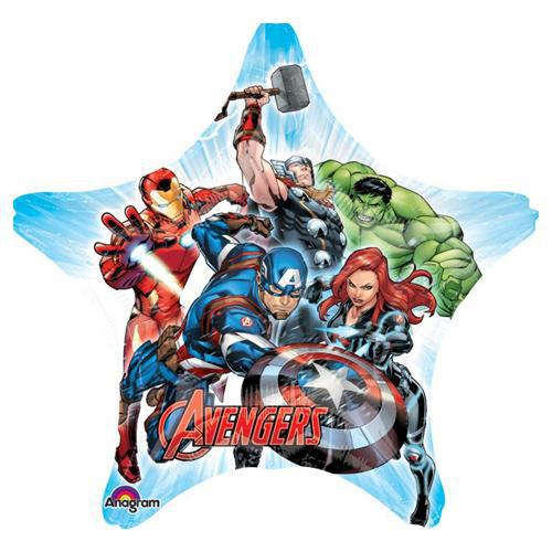 Shape Avengers Group Jumbo Foil Balloon 81cm