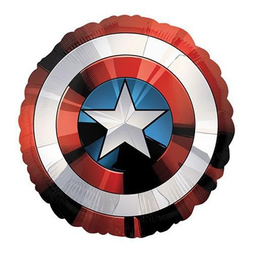 Shape Avengers Shield Captain America - Party Savers