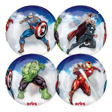 Shape Orbz Avengers 4 Sided Design 38cm