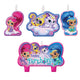 Shimmer and Shine Candle Set 4pk