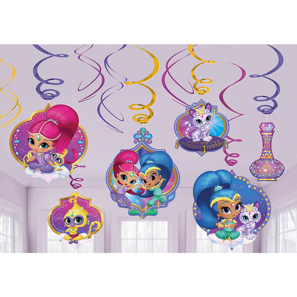 Shimmer and Shine Swirl Value Pack 12pk