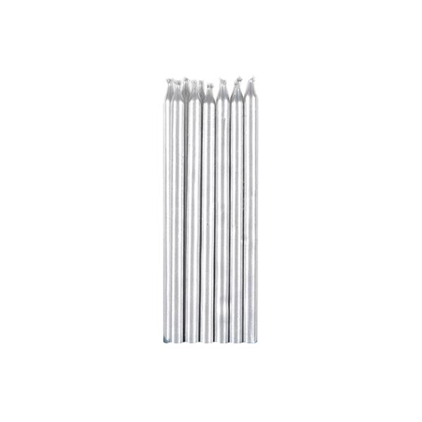 Silver Candles 12pk