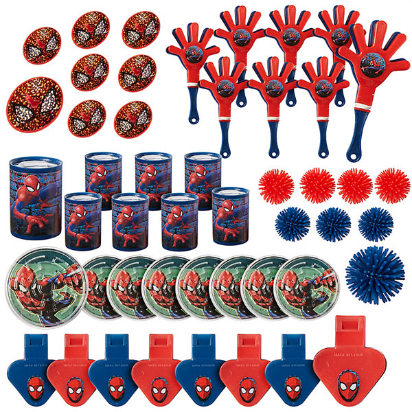Spider-Man Webbed Wonder Mega Mix Value Pack 48pk - Party Savers