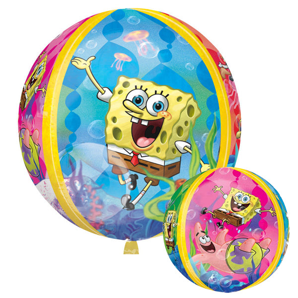 SpongeBob Squarepants Orbz Balloon 38cm - Party Savers