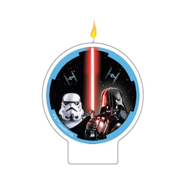 Star Wars Classic Flat Candle Each - Party Savers