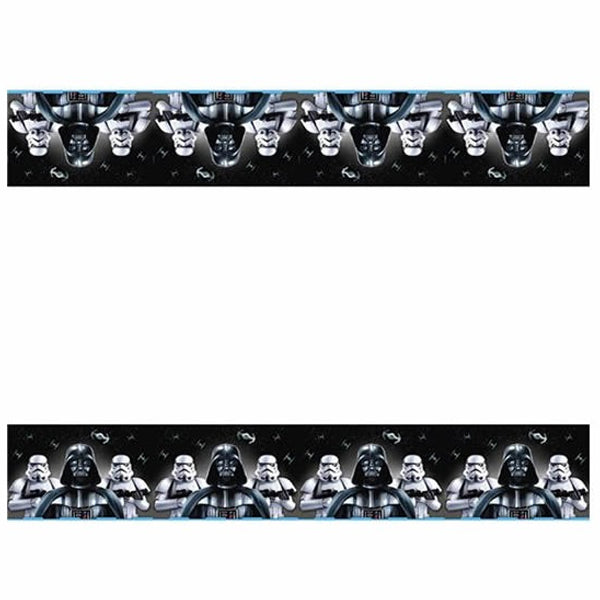 Star Wars Classic Plastic Tablecover 1.8m x 1.3m - Party Savers
