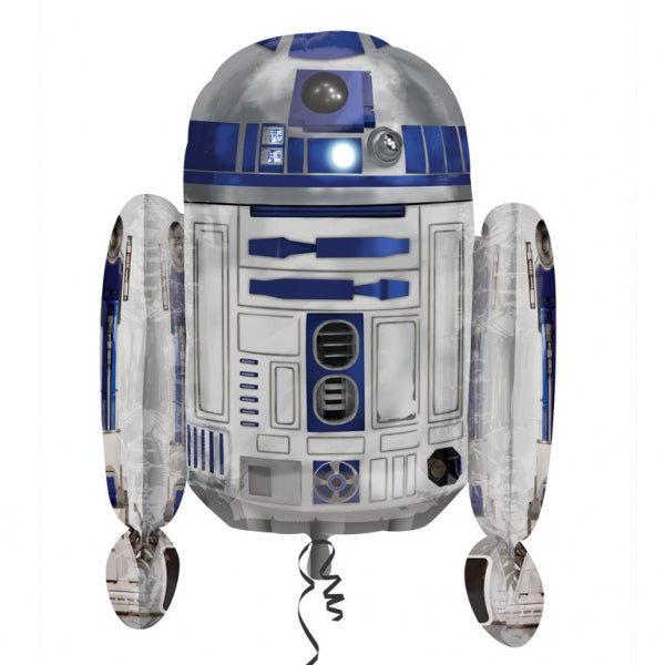 Star Wars R2D2 Balloon 55cm x 66cm - Party Savers