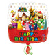 Super Mario Brothers Birthday Balloon 45cm